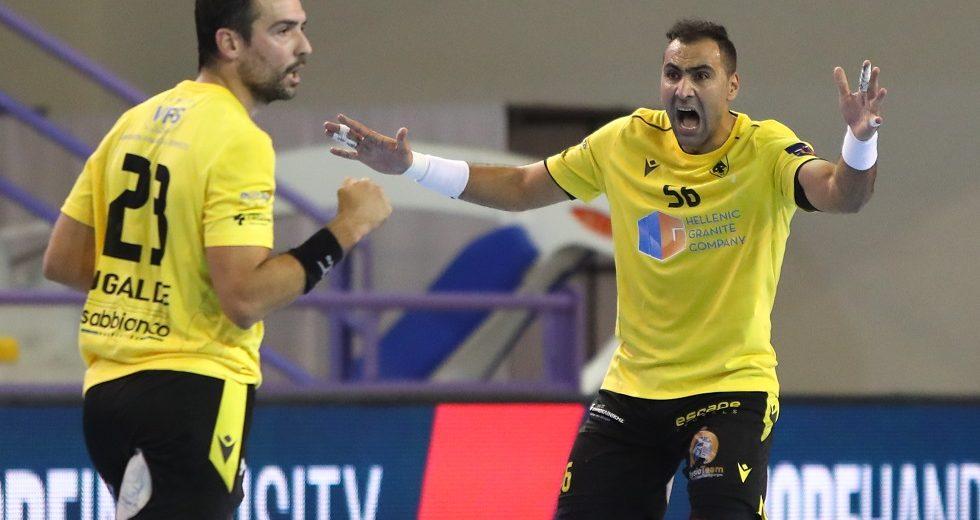 Πρεμιέρα με νίκη (34-26) κόντρα στην Ουγγρική Ταταμπάνια για την ΑΕΚ!
